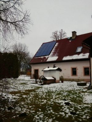 Zonnepanelen in Tsjechie